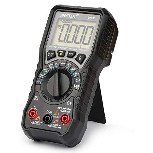 Zerama DM90 Mini-Multimeter High Precision Digitale Multifunktionsmultimeter Auto Range Tester Kapazitätsmessgerät