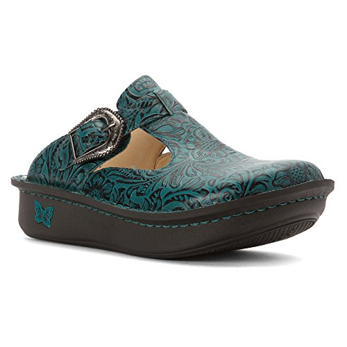 Alegria Classic, Chaussures femme Teal Tooled