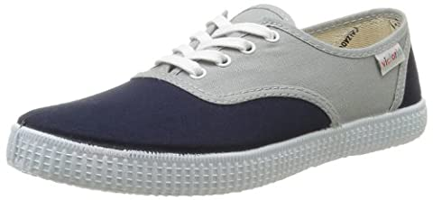 Victoria Inglesa Bicolor, Sneakers Basses mixte adulte, Gris (111 Gris-Marino),