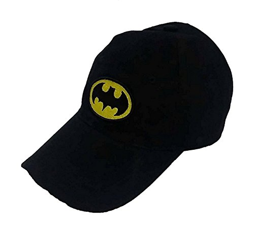 Glamio Black Batman Supper Premium Solid Snapback Cap  available at amazon for Rs.180