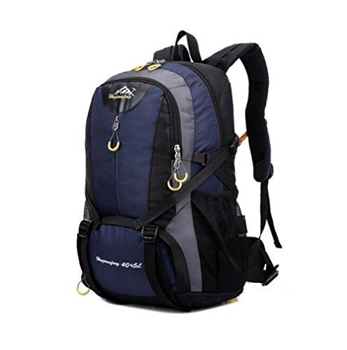 Wmshpeds Grande capacità può essere estesa outdoor alpinismo sacco spalle borsa per computer moda tempo libero zaino borsa E