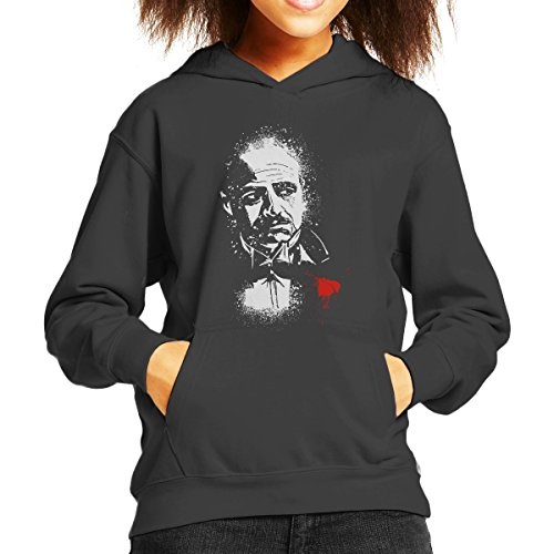 The Godfather The Offer Don Vito Corleone Kid's Hooded Sweatshirt (James Caan Programm Das)
