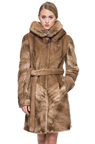adelaqueen-womens-brown-knee-length-mink-hooded-faux-fur-coat-with-buckles-size-m