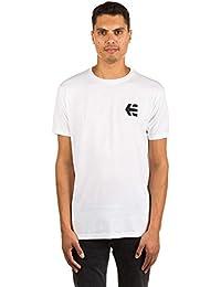 Tee shirt Etnies Mini Icon Blanc-Noir