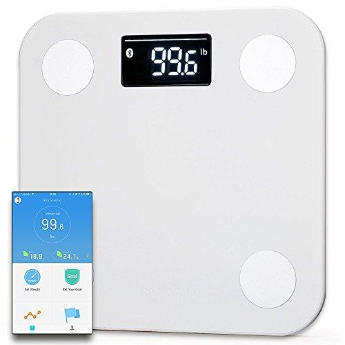 YUNMAI Mini Smart Körperanalysewaage - Gewicht & BMI & Körperanalysen Funktioniert mit iPhone 8 / iPhone X (10)