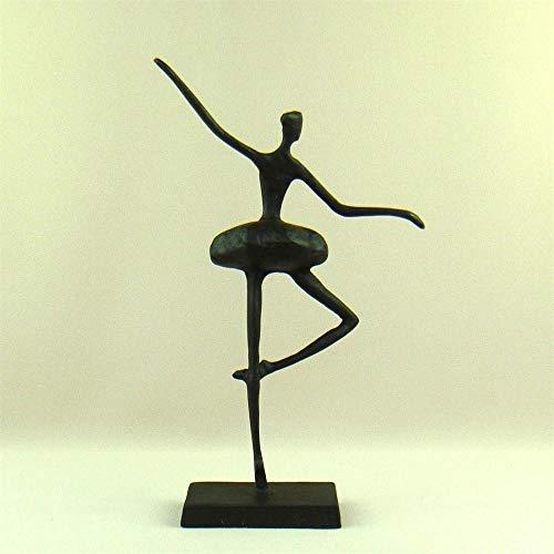 DAJIADS Figur Figuren Statue Statuen Statuette Abstrakte Metall Ballet Dancer Skulptur Handgeschmiedetem Ballerina Statue Home Dekoration Geschenk Und Handwerk Souvenir Ornament Cast -