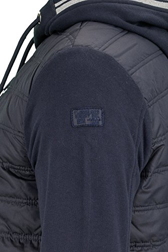 Kitaro Herren Pullover Sweatjacke Buenos Aires - Harbour Dunkelblau