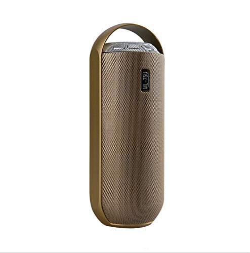 Altavoz Bluetooth Altavoz portátil de subwoofer portátil para Exteriores, Tarjeta de Sonido...