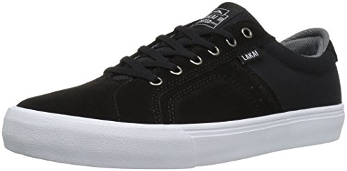Lakai Skateboard Shoes Flaco Black/Grey Suede Size 9 -