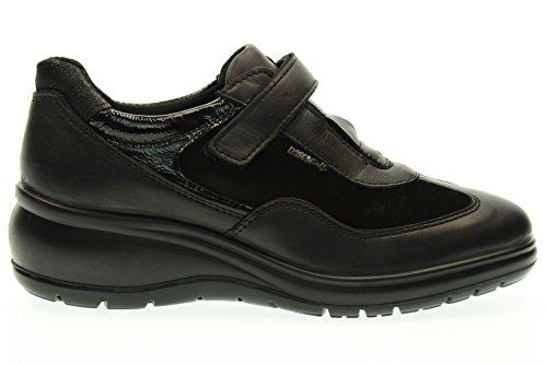 la chaussure de ENVAL SOFT femme avec clé et coin 69813/00 Nero