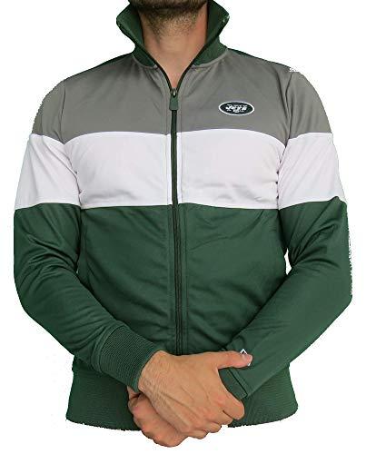 NFL - NewYorkJets - Jacke | grau-weiß-grün XL -
