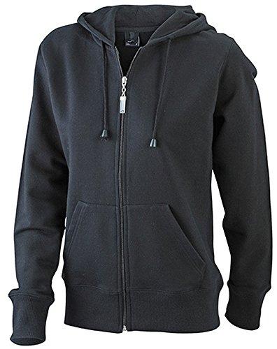 Ladies' Hooded Jacket Black
