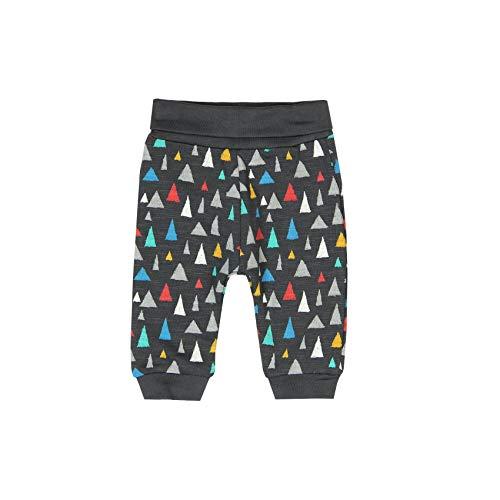 boboli 156068, Pantalones Deportivos Unisex Bebé, Multicolor (Triángulos 9852), 74 (Tamaño del Fabricante:9M)