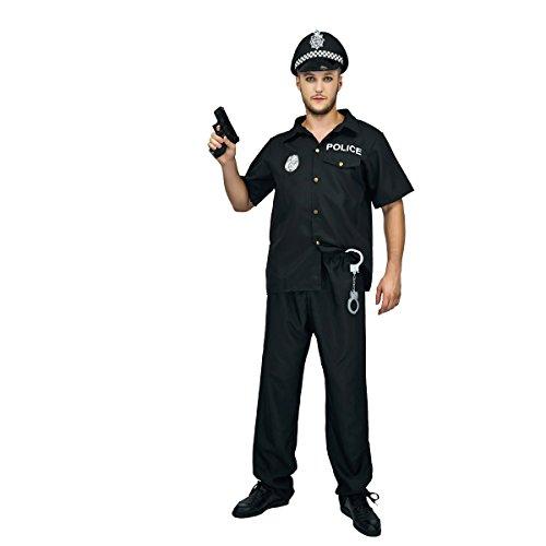 Sea Hare Erwachsene Männer Polizist Polizist Kostüm