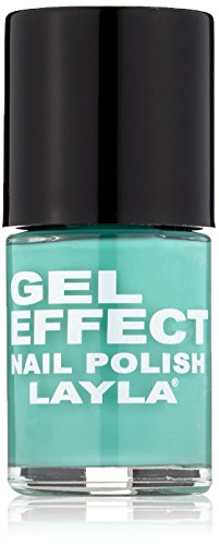 Layla Cosmetics Gel Effect Nagellack - fiji green, 1er pack (1 x 0.01 l) -