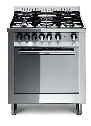 Lofra M76GV/C Cucina a Gas, Acciaio 18/10