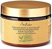 SheaMoisture Manuka Honey &Mafura Oil Intensive Hydration Treatment Masque Packet| 12 fl. oz