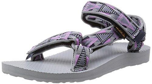 Teva Original Universal W's Damen Sport- & Outdoor Sandalen Grau (878 mosaic pink)