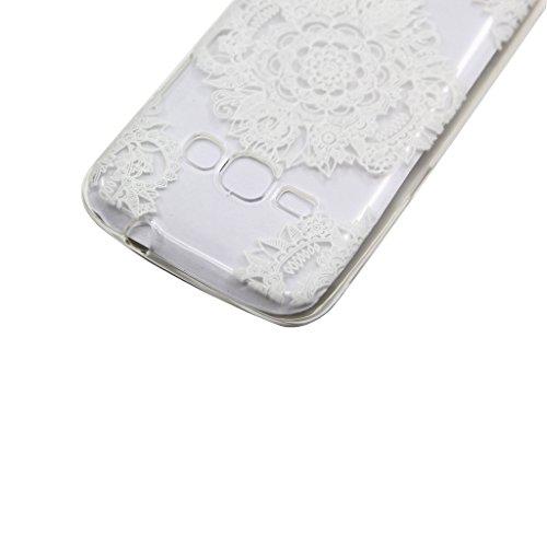 iPhone 6s Plus / iPhone 6 Plus Hülle mit Frei Hartglas Displayschutzfolie, BoxTii Apple iPhone 6 Plus / iPhone 6s Plus TPU Schutzhülle, Weiche Kratzfeste Stoßdämpfende Rückschale Case Cover für Apple  #2 Transparent