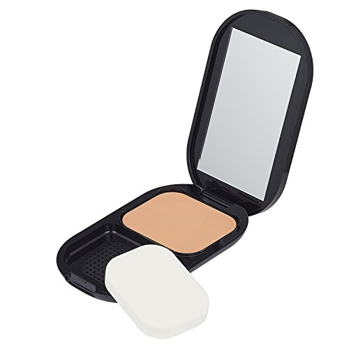 Max Factor Facefinity Compact Foundation, Farbe 005 sand, feuchtigkeitsspendendes Make-up, 10 g