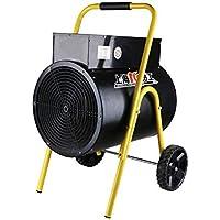 HPTC Calentador eléctrico del Ventilador, Ventilador Industrial del Garage del Taller de la Fase Grande