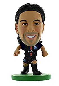 Soccerstarz-soc302-Paris St Germain Javier Pastore Home Kit (2018versión)/Cifras