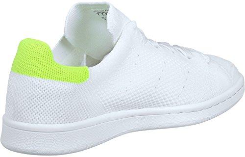 Gelb Adidas Dekollete Neon Sneaker Weiß Damen Smith Stan Primeknit rEeQWdCBxo