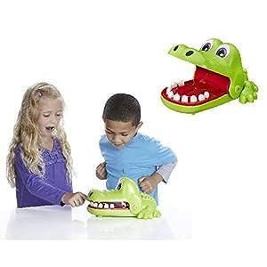 Hasbro Elefun & Friends: Crocodile Dentist Game Niños Juego de Habilidades motrices Finas - Juego de Tablero (Juego de Habilidades motrices Finas, Niños, Niño/niña, 4 año(s), Verde, Rojo, Blanco)