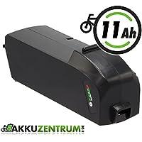 Ersatzakku 36V 11 Ah ( 400Wh ) für E-Bike Fahrrad Akku für Bosch PowerPack Classic+ 300 und 400 (R400) von GTE