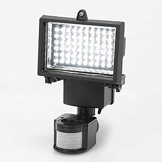 YUNRUX Solar Light with 60 LED Solar Lamp Spotlight Outdoor Light Solar Spotlight Motion Sensor Wall Light Energy Saving Waterproof Sensor Light for Garden Deck, Yard, Hallway, Porch