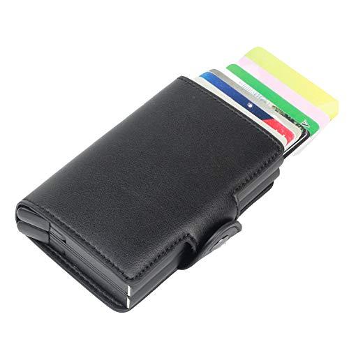 Mens Genuine Leder Wallet RFID Blocking Card Holder Wallet Business Leder Kurzwalltasche Geldbörse Geldbörse Geldbörse Geldbörse Geldbörse Valentines Day-hose