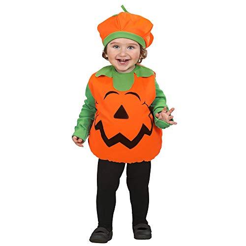 Costume bambini zucca taglia 90-104 cm / 1-3 anni