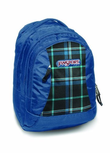 jansport-zaino-casual-unisex-unisex-bleu-noir-streak-perry-plaid