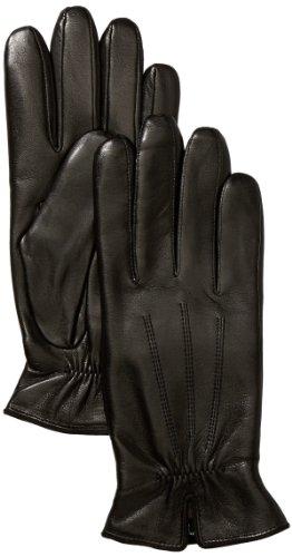 Roeckl Damen Handschuh Klassiker - Gerafft 13011-220, Gr. 7.5, Schwarz (000)
