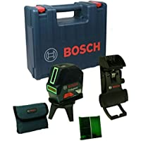 Bosch GCL coperta a pois e Laser Linea–-- Verde Laser–-- + 2–15G Fermacarte