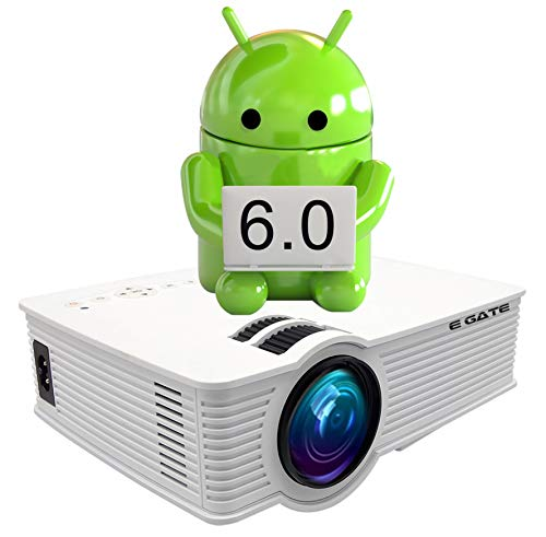 """EGATE i9 LED HD ANDROID WIFI PROJECTOR - HD 1920 X 1080 - 120"""" DISPLAY"""