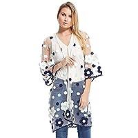 Kookla Boutique Kaftans & Kimono For Women, Clear M