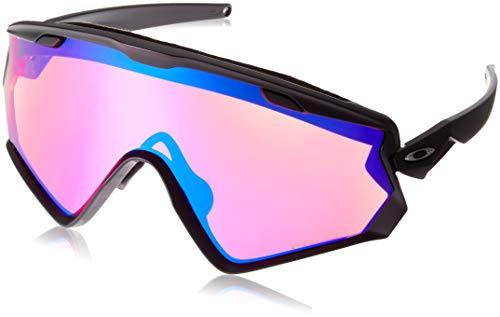 Oakley Herren Wind Jacket 2.0 Sonnenbrille, Schwarz (Negro), 0