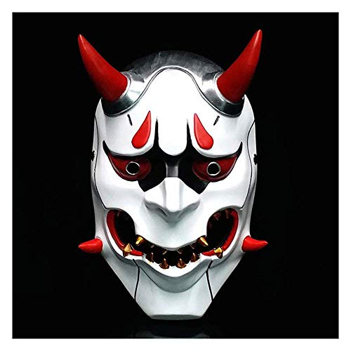 ster Maske Harajuku japanische Geist Krieger Geist Gesicht Teufel japanische böse Geist Maske ()