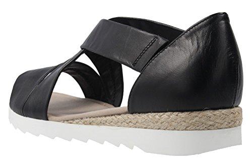Gabor Shoes Damen Comfort Offene Sandalen Schwarz
