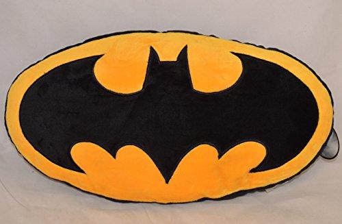 Cuscino Peluche Logo di Batman da 46 cm Ufficiale