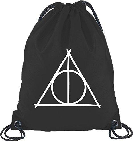 Shirtstreet24, Harry Triangle, girare bag borsa sportiva zaino nero