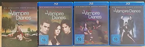 The Vampire Diaries - Staffel/Season 1+2+3+4 * Komplett * DVD Set - Vampire Vier Diaries-staffel