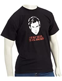 coole-fun-t-shirts Herren t-shirt DEXTER- I really need to kill somebody