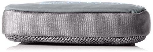 Calvin Klein Jeans Herren Logan 2.0 Mini Flat Umhängetaschen, 20x16x3 cm Grau (ABYSS 020 020)