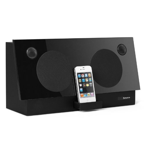 Auna iSP-3000B iDock Docking-Station für Apple iPhone/iPod (600 Watt)