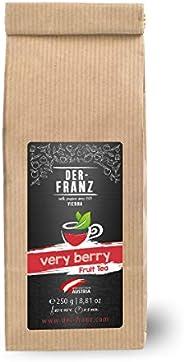 """Der-Franz Früchtetee """"Verry Berry"""" in ganzen Blättern, 250g"""