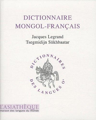 Dictionnaire (mongol-franais)