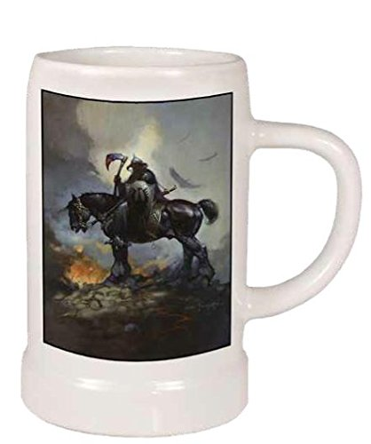 Dark Horse Deluxe Frank Frazetta: Death Dealer Stein Action Figur