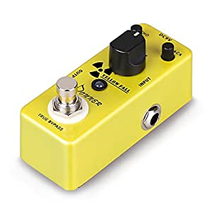 donner yellow fall delay guitar effect pedal mini compact size true bypass. Black Bedroom Furniture Sets. Home Design Ideas